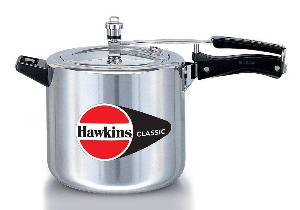 Hawkins Classic Aluminum 6 5 Liter Pressure Cooker A To