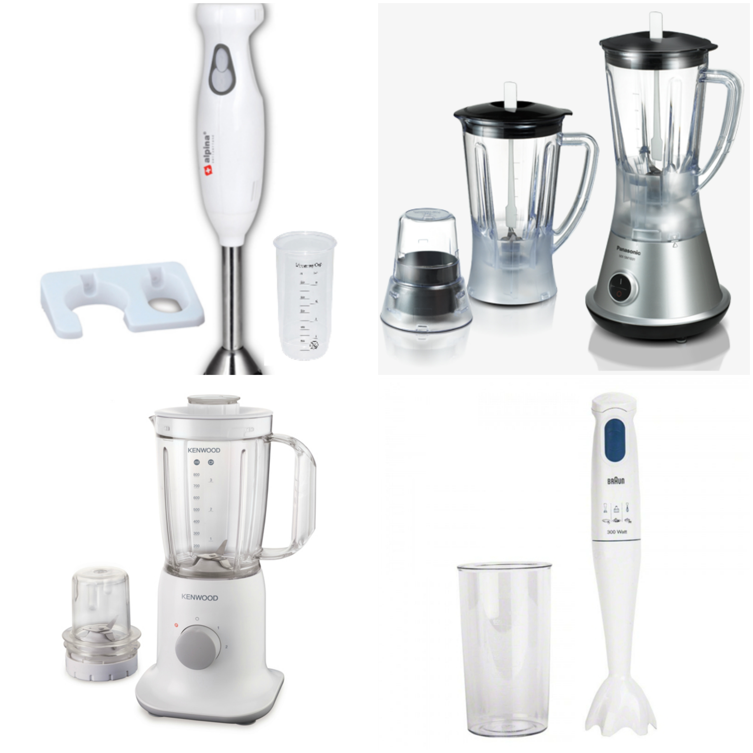 Blenders & Hand Blenders/Mixers