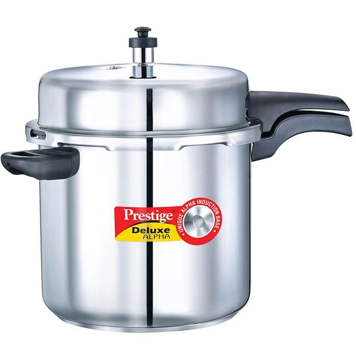 Prestige Deluxe Stainless Steel 10 Liter Pressure Cooker